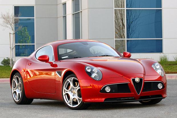Alfa Romeo 8C Competizione Images